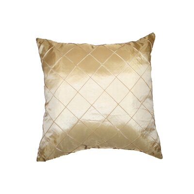 Violet Linen Silky Checks Decorative Pillow