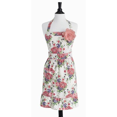 Autumn Rose Bib Courtney Apron