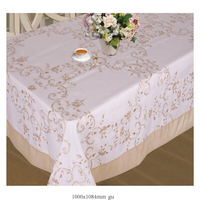 Lisbon Embroidered Vintage Design Tablecloth