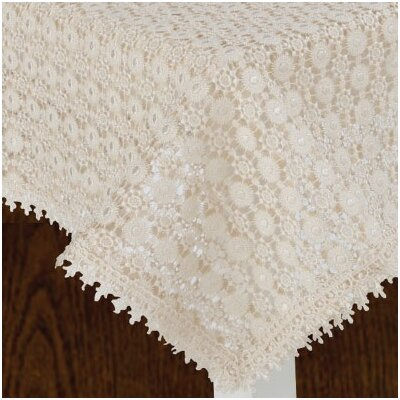 Botany Vintage Crochet Lace Design Tablecloth