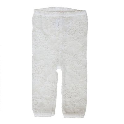 Baby Bella Maya Lacy Leggings in White