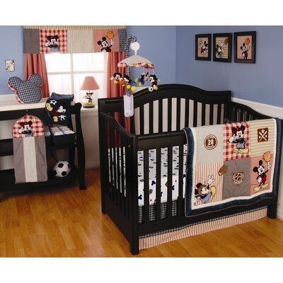 Vintage Mickey Crib Bedding Collection