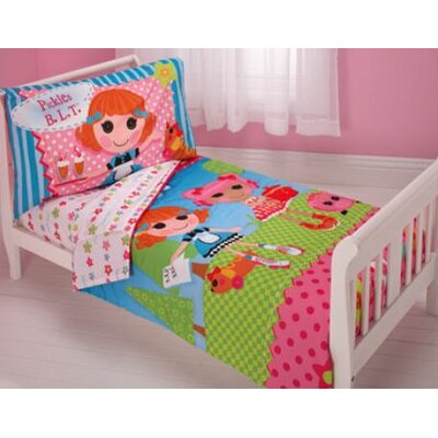 Disney baby bedding lalaloopsy 4 piece toddler bedding set