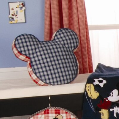 Vintage Mickey Throw Pillow
