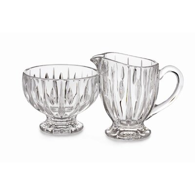 Marquis by Waterford Sheridan Sugar Bowl and Creamer Set