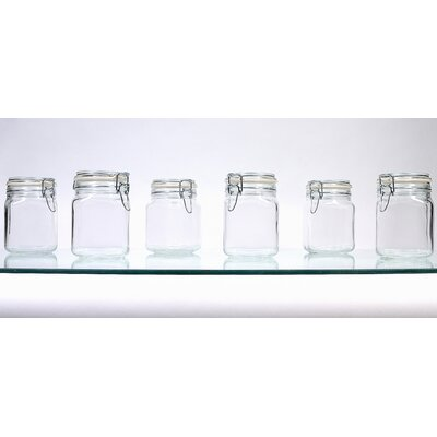 Global Amici Hermetic Jar (Set of 6)