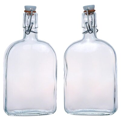 <strong>Global Amici</strong> Flask Large Bottles (Set of 2)
