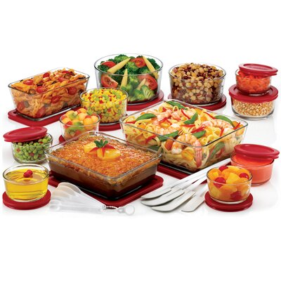 36 Piece Deluxe Storage Bowl