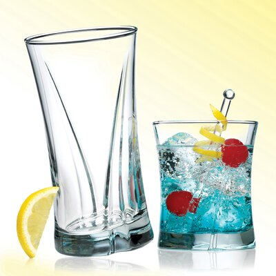 8 Piece Lovelite Glassware Set