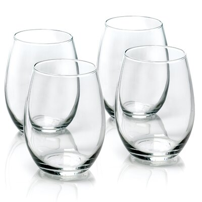 Stemless Wine Glasses (Set of 4)