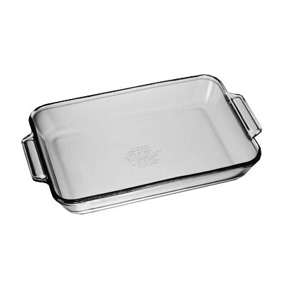 Anchor Hocking 3 Qt. Oven Basics Crystal Baking Dish