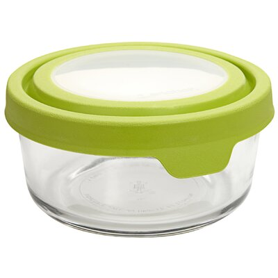 Anchor Hocking 4 Cup Round TrueSeal Glass Storage Container