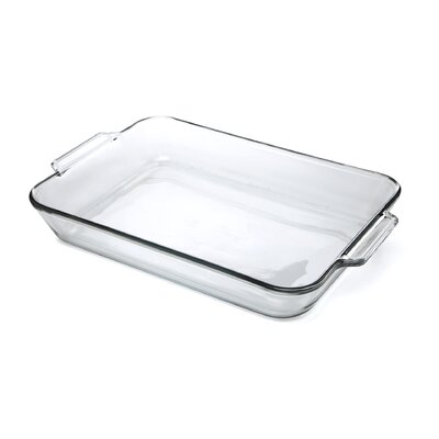 5 Qt. Oven Basics Clear Glass Baking Dish (Set of 3)