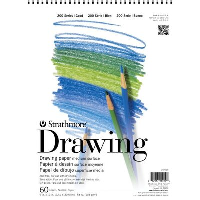 Strathmore 200 Series Drawing Pads