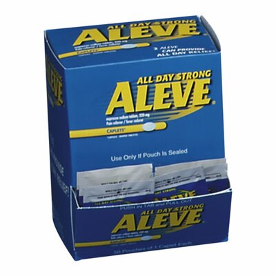 Aleve® Aleve Pain Reliever Tablets, Blue