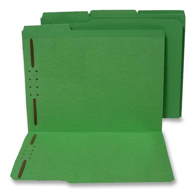 S J Paper Top Tab File Folder
