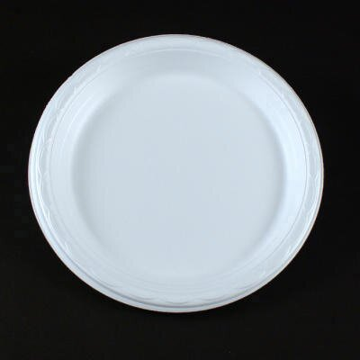 Dispoz-o Enviroware Foam Dinnerware 3-C Plate in Wheat