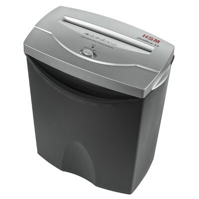 HSM of America,LLC HSM shredstar X5, 5-7 sheets, cross-cut, 4.2 gal. capacity