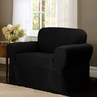 Stretch Dot Chair Slipcover