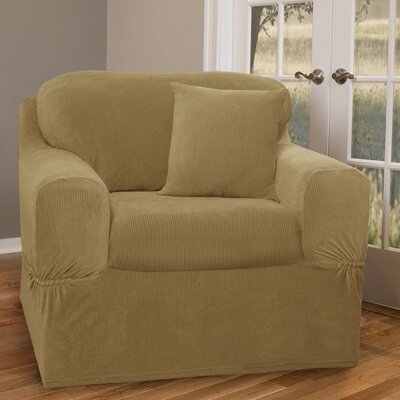 Maytex Collin Stretch Separate Seat Chair Slipcover