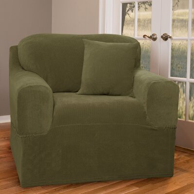 Collin Stretch One Piece Club Chair Slipcover