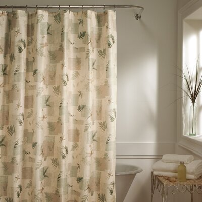 Maytex Julia Polyester Fabric Shower Curtain