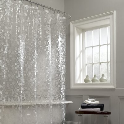 Maytex Ice Circles Vinyl Shower Curtain & Reviews | Wayfair
