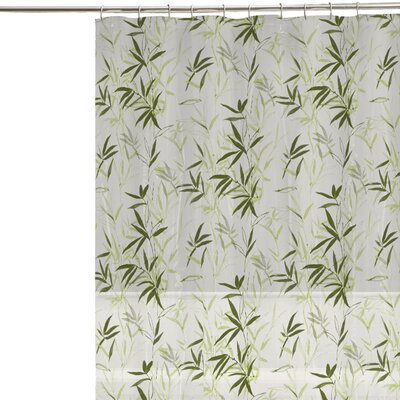 Maytex Zen Garden Vinyl Shower Curtain