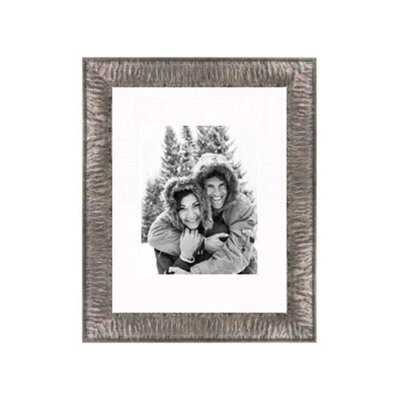 "Frames By Mail 11"" x 14"" Crinkled Frame in Silver"