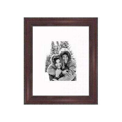 "Frames By Mail 16"" x 20"" Rustic Pitted Frame in Cherry"