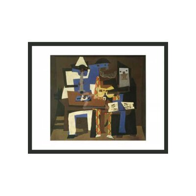 "Frames By Mail Three Musicians by Picasso Framed Print - 11"" x 14"""