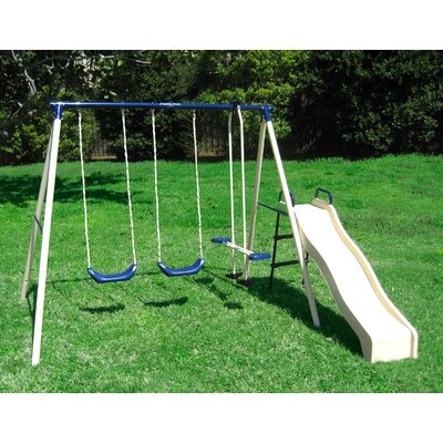 Flexible Flyer Swing N Glide III Gym Swing Set