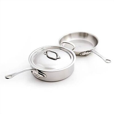 Mauviel M'Cook 5-Ply Stainless Steel 3-Piece Cookware Set