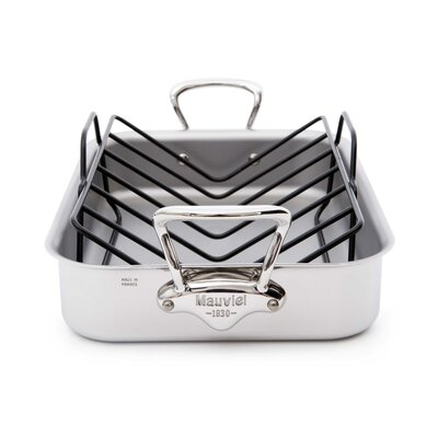 M'Cook Rectangle Roasting Pan with Rack