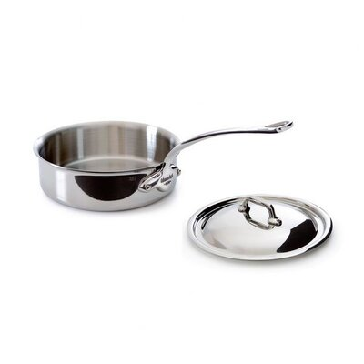 Mauviel M'cook Saute Pan with Lid