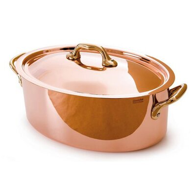 M'heritage Cuprinox Stock Pot with Lid