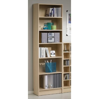 Tvilum Section 6 Shelf Bookcase