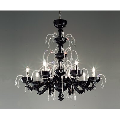 FDV Collection Massimo Tonetto Couture 8 Light Chandelier