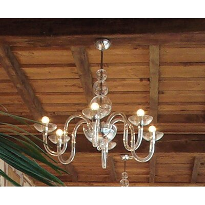 FDV Collection Danieli 6 Light Chandelier