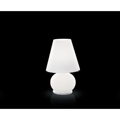 FDV Collection Paralume Mini Table Lamp in White