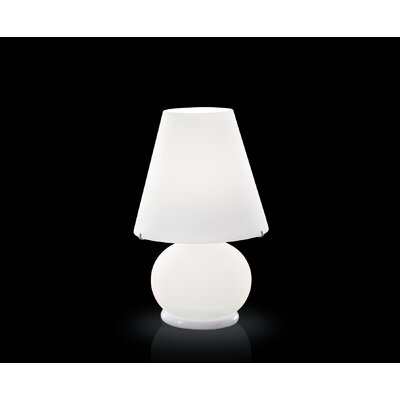 FDV Collection Paralume Table Lamp in White