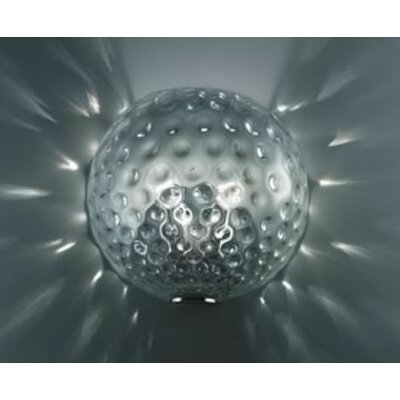 FDV Collection Derby Wall/Ceiling Light in Chrome by Massimo Tonetto
