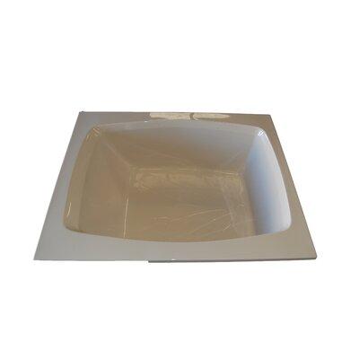 American Acrylic 48 X 48 Soaker Corner Bath Tub Wayfair Images