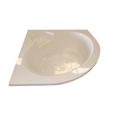 "Sale alerts for American Acrylic  60"" x 60"" Round Front Soaker Corner Bathtub - BR-44S - Covvet"