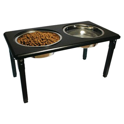 <strong>Ethical Pet</strong> Posture Pro Adjustable Double Pet Diner