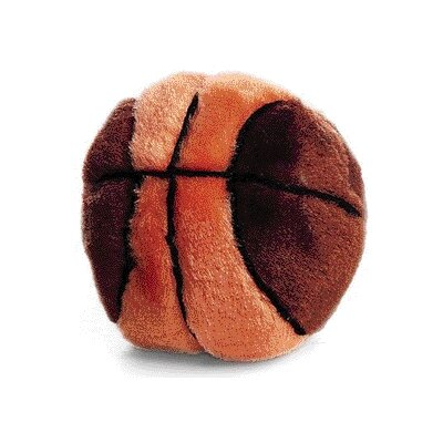 Ethical Pet Plush Basketball Dog Toy