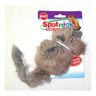 Ethical Pet Long Haired Rattle Mouse Cat Toy