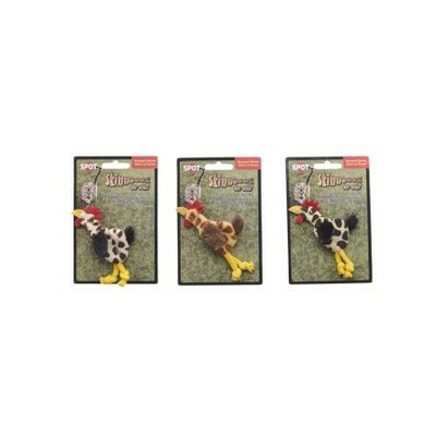 Ethical Pet Skinneeez Chickens Cat Toy