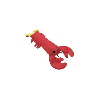 Water Buddy Lobster Dog Toy in Red