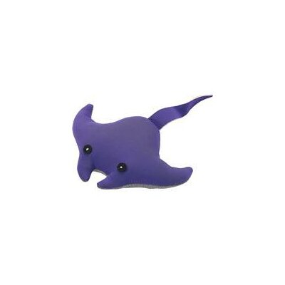 Water Buddy Stingray Dog Toy in Purple